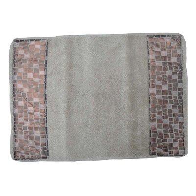 Mosaic Stone Bath Rug
