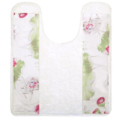 Flower Haven Bath Contour Rug