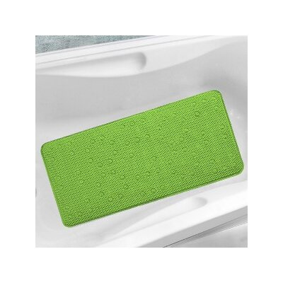 Waffle Weave Foam Tub Mat Color: Lime