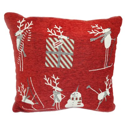 Christmas Holiday Spirit Throw Pillow