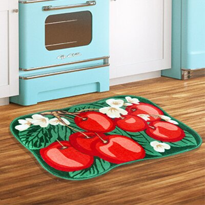 Apple Tree Red/Green Area Rug