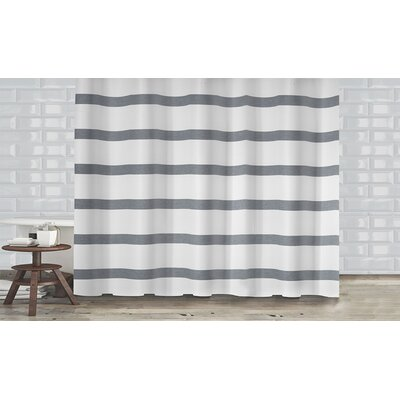 Mulberry Shower Curtain Color: Gray