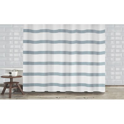 Mulberry Shower Curtain Color: Slate Blue