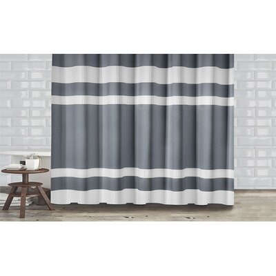 New England Shower Curtain Color: Gray