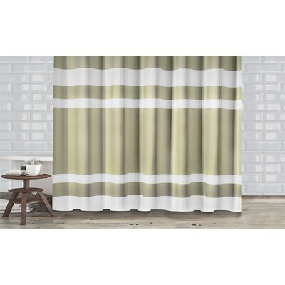 New England Shower Curtain Color: Sage