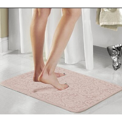 Scroll 2 Piece Bath Rug Set Color: Taupe