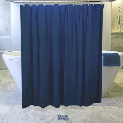 Burban Shower Curtain Liner Color: Navy