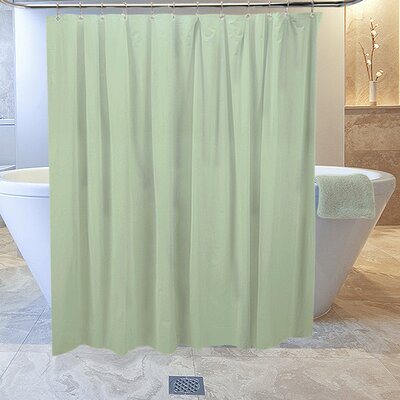 Burban Shower Curtain Liner Color: Moss