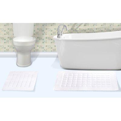 Orlando Cotton Bath Rug Color: White