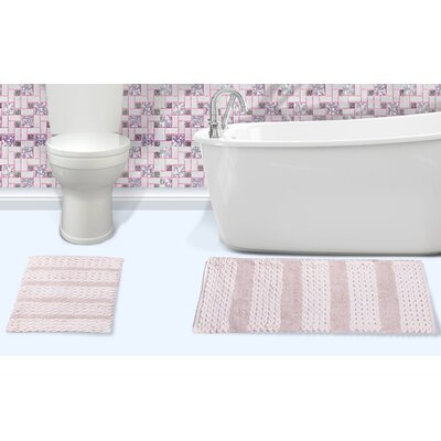 Alliance Cotton Bath Rug Color: Ivory