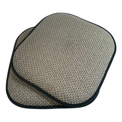 Tobago Dining Chair Cushion Fabric: Beige