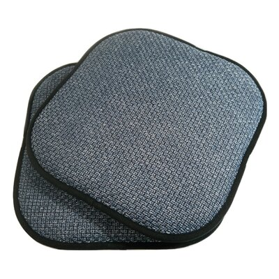 Tobago Dining Chair Cushion Fabric: Blue