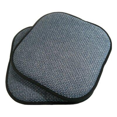 Tobago Dining Chair Cushion Fabric: Blue