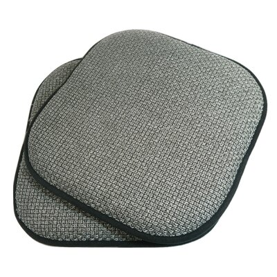 Tobago Dining Chair Cushion Fabric: Gray
