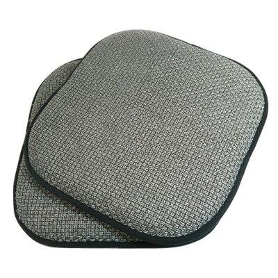 Tobago Dining Chair Cushion Fabric: Gray