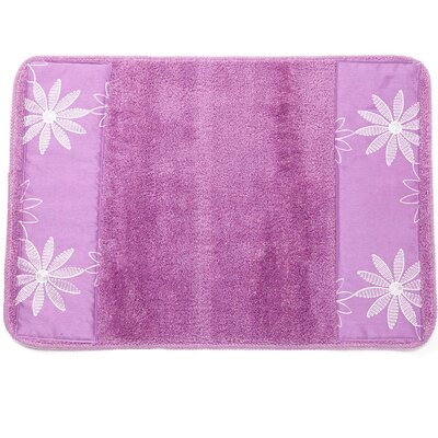 Daisy Stitch Bath Rug