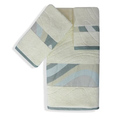 Shell Rummel Sand Stone 3 Piece Towel Set Color: Yellow