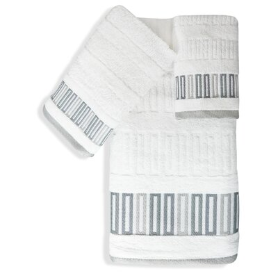 Shell Rummel Soft Repose 3 Piece Towel Set Color: White