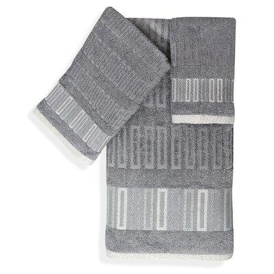 Shell Rummel Soft Repose 3 Piece Towel Set Color: Gray