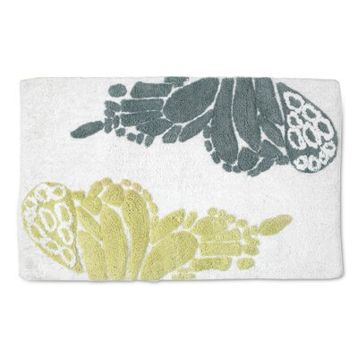 Shell Rummel Butterfly Bath Rug