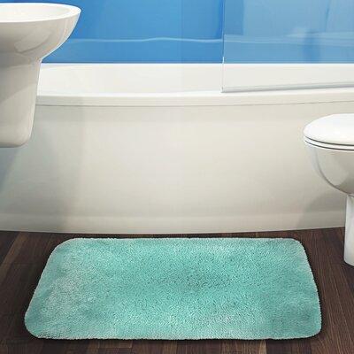 Herrmann Bath Rug Color: Blue, Size: 20 W x 32 L