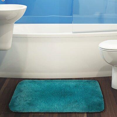 Herrmann Bath Rug Color: Teal, Size: 24