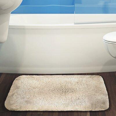 Herrmann Bath Rug Color: Beige, Size: 24 W x 40 L