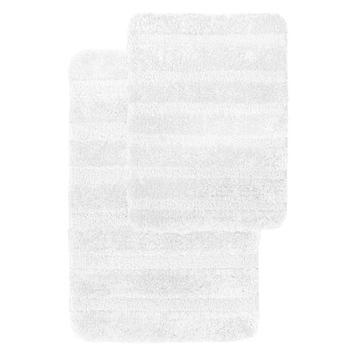 Geraldo 2 Piece Bath Rug Set
