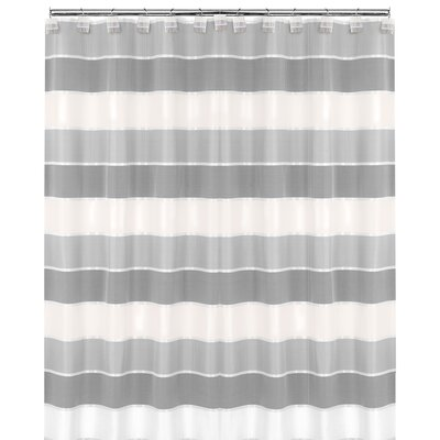 Jayceson Shower Curtain Color: Gray
