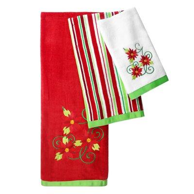 Santa 3 Piece Towel Set