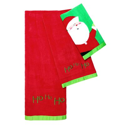 Christmas Tree 3 Piece Towel Set