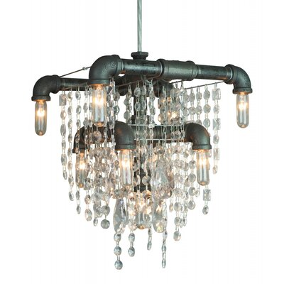 Eulalia 9-Light Crystal Chandelier