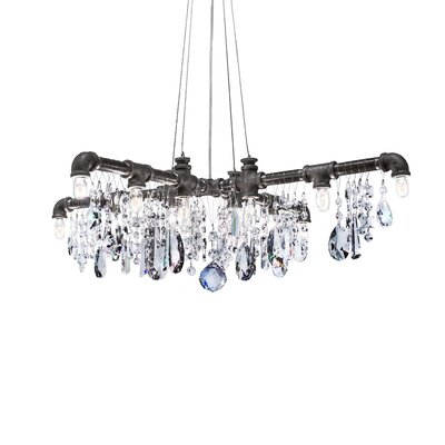 Eulalia 12-Light Crystal Chandelier