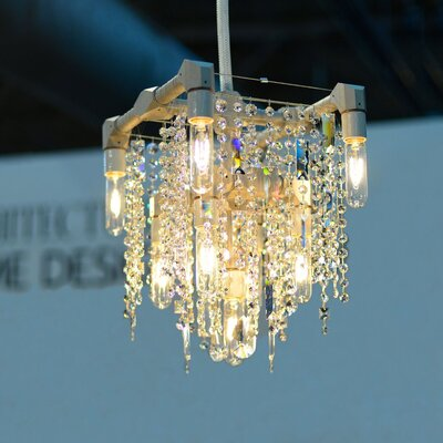 Eustacio 9-Light Crystal Chandelier