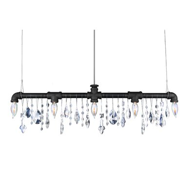 Eulalia 5-Light Kitchen Island Pendant