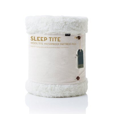 Wool Tite Mattress Pad & Protector Size: Twin