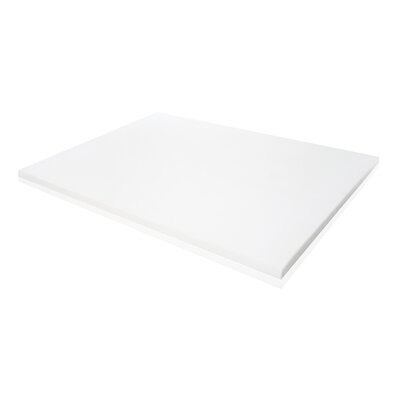 Ventilated Memory Foam Mattress Topper Size: Twin
