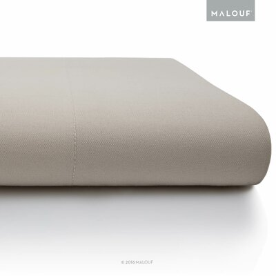 Rayon from Bamboo Pillowcase Set Size: Queen, Color: Driftwood