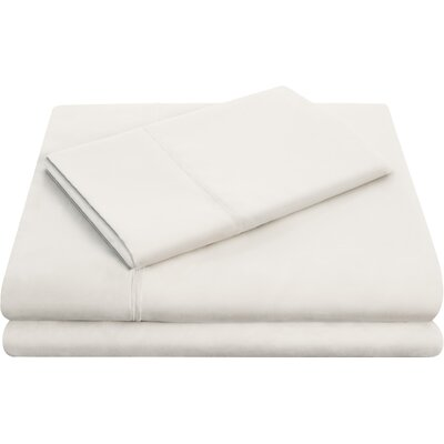 Hollander Microfiber Pillowcase Set Size: Queen, Color: Off White