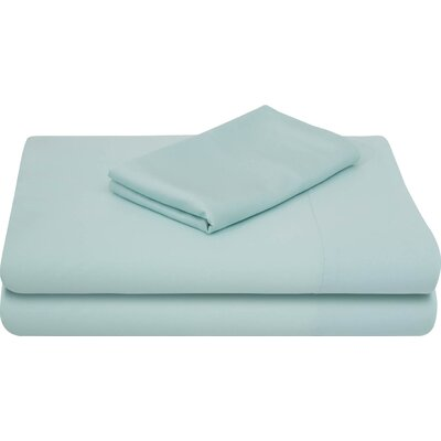 Rayon from Bamboo Bed Sheet Set Size: Queen, Color: Rain