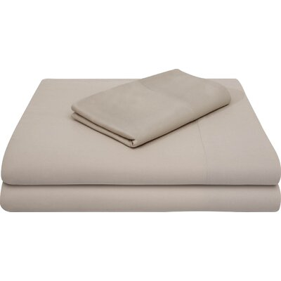 Rayon from Bamboo Bed Sheet Set Size: King, Color: Driftwood