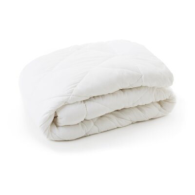 Bed in a Bag Size: Split Queen, Color: White
