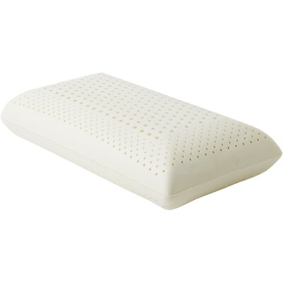 Zoned Dough Low Loft Firm Memory Foam Pillow Size: Queen