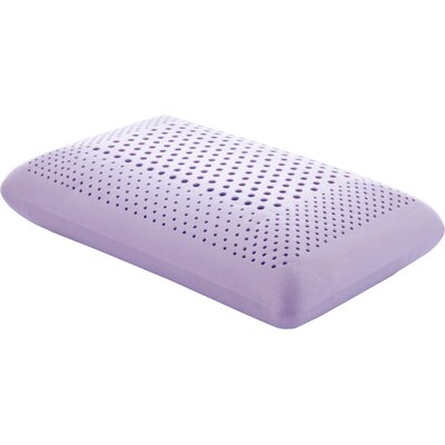 Zoned Dough Lavender Oil Infused Memory Foam Pillow Size: Queen