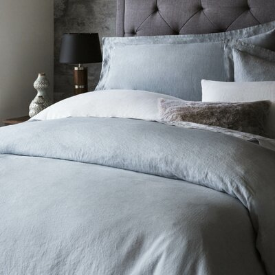 Postma 3 Piece Duvet Set Size: King, Color: Smoke