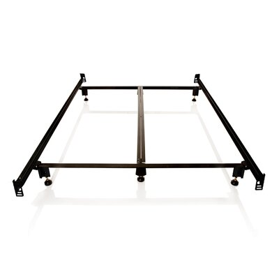Daggett Steelock Metal Bed Frame Size: Queen