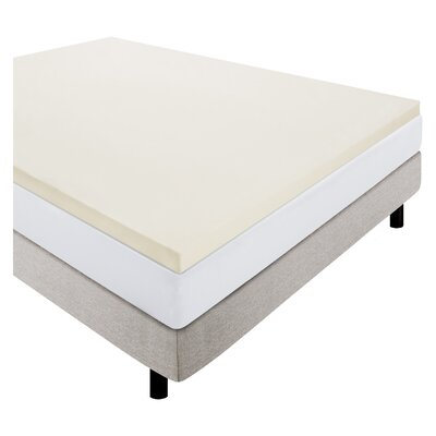 2 Foam Mattress Topper Size: Queen