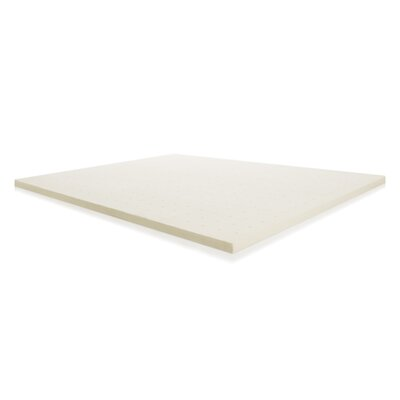 2 Memory Foam Mattress Topper Size: Split King