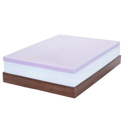 3 Memory Foam Mattress Topper Size: Queen