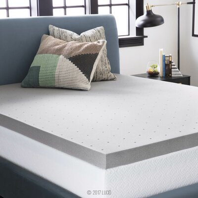 3 Memory Foam Mattress Topper Size: Twin